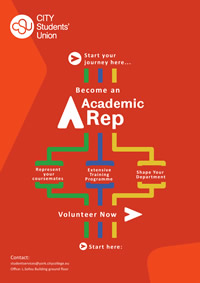 'Become an Academic Rep' flyer (PDF)