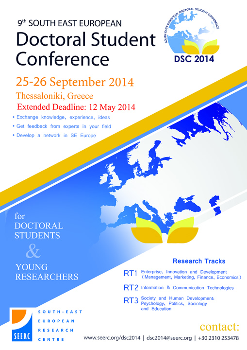 9th South East European Doctoral Student Conference