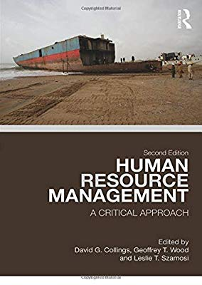 Dr Leslie Szamosi publishes new book entitled 'Human Resource Management: A Critical Approach'
