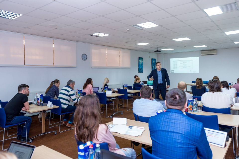 The fourth module of the Programme for Management Development was successfully delivered by Dr Leslie Szamosi, Academic Director of Executive MBA, the University of Sheffield International Faculty