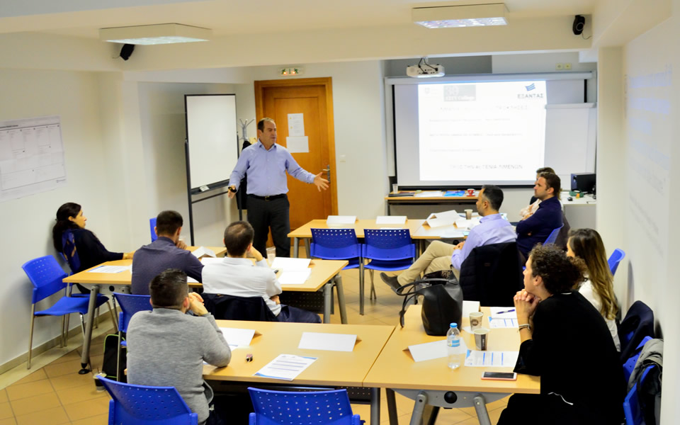A group of executives and employees of the Thessaloniki Port Authority (TH.P.A.) had the opportunity to attend an innovative executive training programme