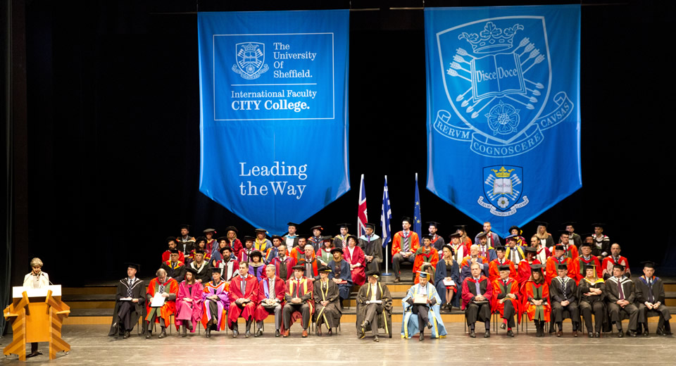 The University of Sheffield International Faculty CITY College Graduation Ceremony 2018
