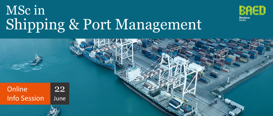 MSc in in Shipping & Port Management at CITY College, University of York Europe Campus