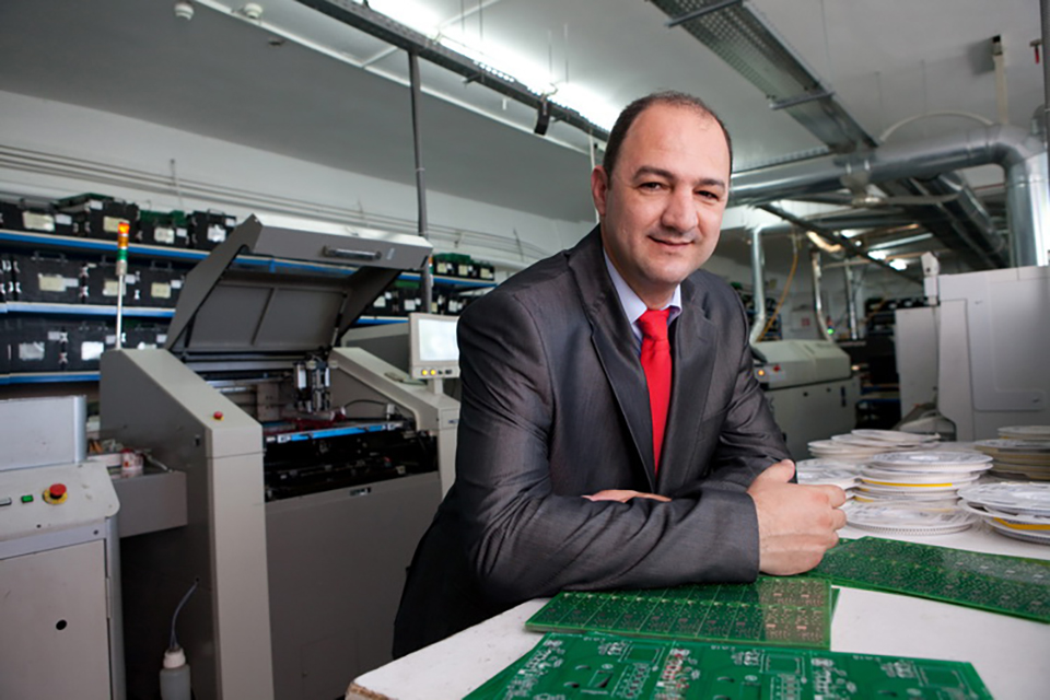 "Congratulations to The International Faculty CITY College alumnus, Mr Dimitrios Lakasas, CEO and Managing Director of Olympia Electronics, who was elected ""Innovation Entrepreneur of the Year 2017'"
