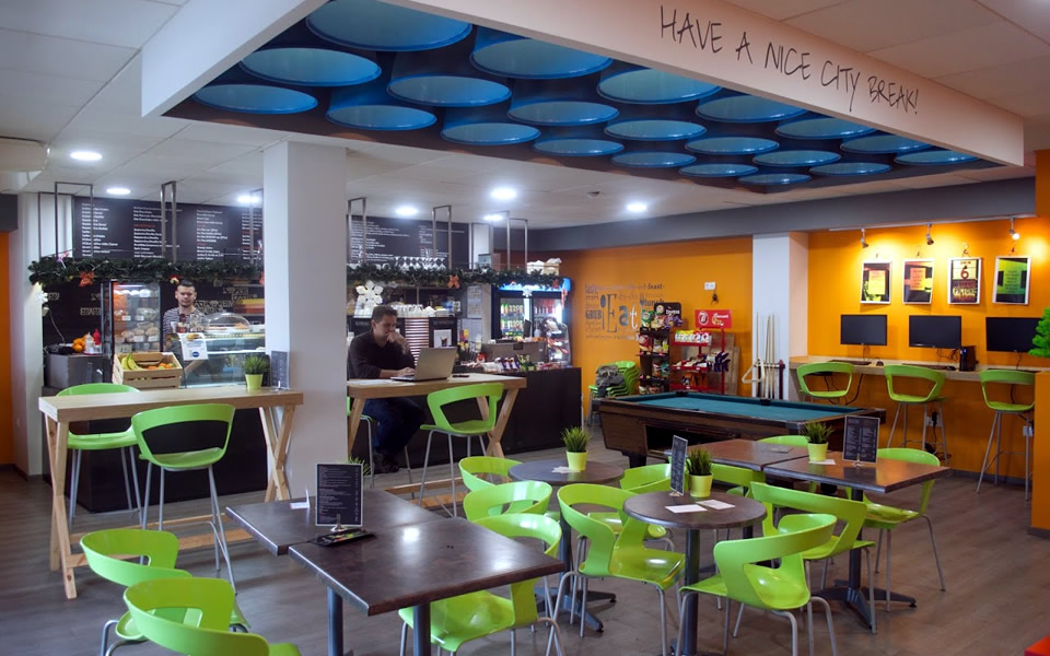 CITY Break Cafe - CITY College, International Faculty of the University of Sheffield