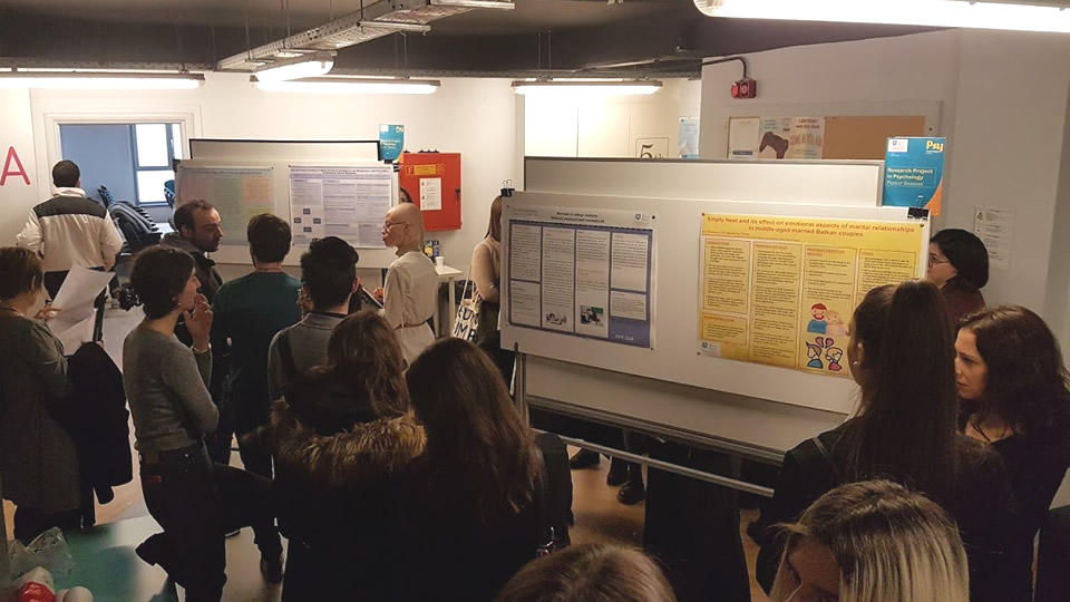 Poster Session for the Research Project by final year Psychology students of CITY College