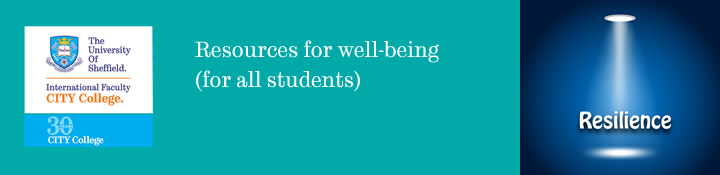 Resources for well-being (for all students)