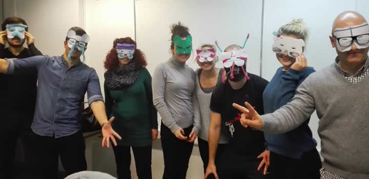 CITY College postgraduate students had the opportunity to participate in a very powerful experiential learning activity called 'The Masks', during which identity-related issues were explored