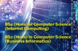 New Undergraduate Programmes in Computer Science