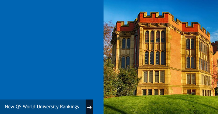 University of Sheffield rises in QS World University Rankings top 100