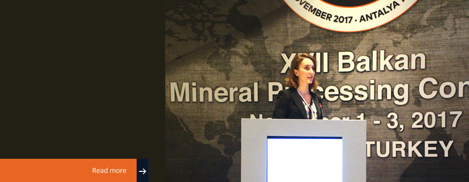 Computer Science student presents paper at the 17th Balkan Mineral Processing Congress in Turkey