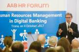 The Head Coach of the Executive MBA participates in HR Forum of the Albanian Banking Association