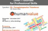 Tutorials for Professional Skills by Human Value