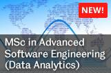New Masters programme in Advanced Software Engineering with specialisation in Data Analytics