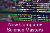 New Masters programmes by our Computer Science Department