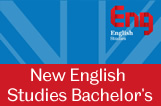 New Bachelor's programmes by our English Studies Department