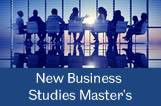 New Masters programmes by our Business Administration & Economics Department