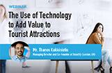 "The use of technology to add value to tourist attractions"" guest lecture by Mr Thanos Kokkiniotis from Smartify"