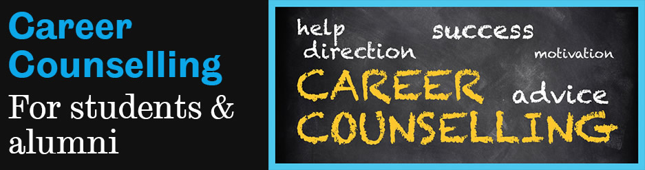 Career counselling for students and alumni