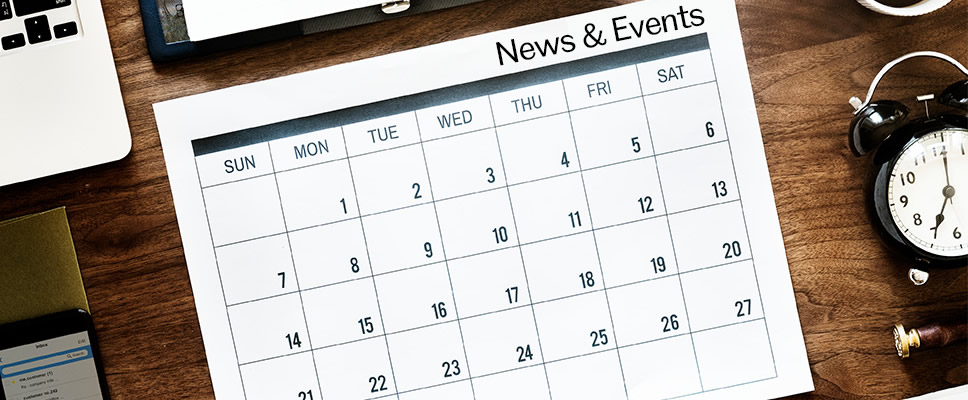 More News and Events Calendar