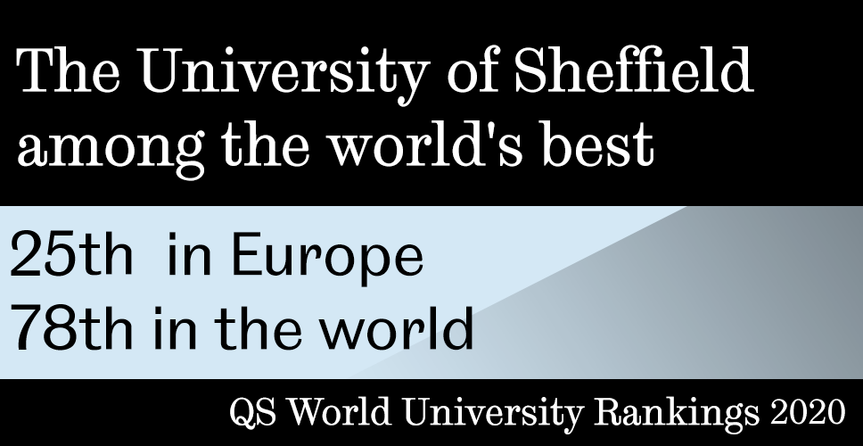 The University of Sheffield among the world's best