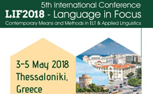 Language in Focus - International Conference 2018