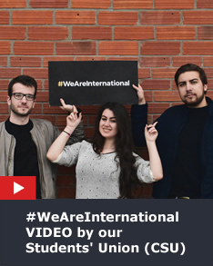#WeAreInternational Video by CSU