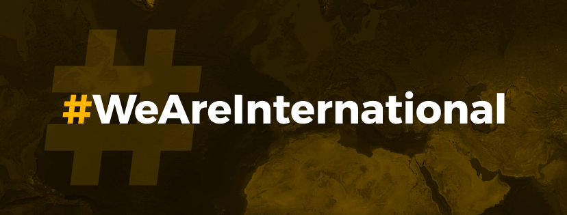 #WeAreInternational, launched by the University of Sheffield and its Students' Union, is a ground breaking campaign highlighting the importance of international students to the UK