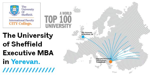 The University of Sheffield Executive MBA in Yerevan