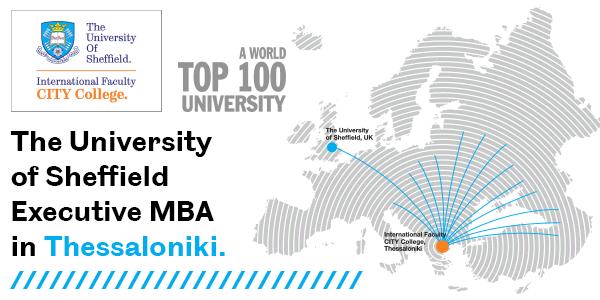 The University of Sheffield Executive MBA in Thessaloniki